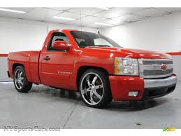 100 Single Cab Chevy Trucks For Sale 2008 Chevrolet Silverado 1500 LT Regular In Victory Red