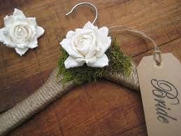 Items Similar To WEDDING DRESS HANGER Wedding Hanger Rustic Chic Woodland Personalized Brides Name Hangers Custom Gift On