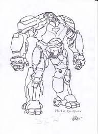 At Getdrawings Com Free For Personal Use · Hulkbuster Drawing Veronica Coloriage Hulk Buster