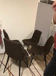 4 mömax stühle esszimmer essstuhle nur 2 monate alt