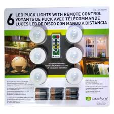 Menards Under Cabinet Lighting by Capston 6 Wireless Under Cabinet Puck Led Lights With Remote
