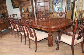 Victorian Dining Room Set Era Furniture Mahogany Chairs