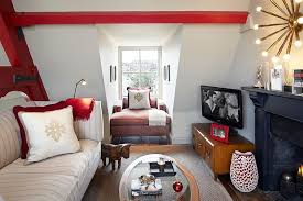 View In Gallery Beautiful TV Room Idea For The Small Attic Space Design Naomi Astley Clarke