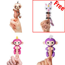 Big Deal Fingerlings Interactive Baby Monkey Unicorn And Sloth