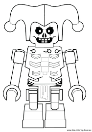 Full Image For Lego Ninjago Colouring Pages Lloyd Coloring