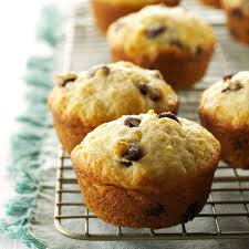 Bisquick Pumpkin Chocolate Chip Muffins by Sour Cream Chip Muffins Recipe Taste Of Home