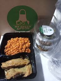 100 Healthy Food Truck Monday Bulgur With Chicken In Mushroom Sauce At My Green