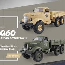 100 Military Truck Amazoncom JJRC Q60 RC Car 116 24G High Speed