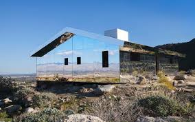 100 Desert House Design This Mirrored Blends Right Into The Travel