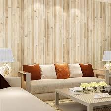 kostenloser versand holz muster vliestapete retro braun gelb holz tapete wohnzimmer tv hintergrundbild