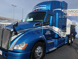 100 Fuel Cells For Trucks Kenworth T680 Converted Fuel Cell Electric Power By Toyota