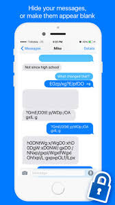 Encryption for iMessage Hide your texts on the App Store