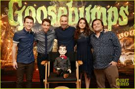 Halloweentown 2 Cast by Jack Black Kisses Slappy At U0027goosebumps U0027 Photo Call Photo 3476403