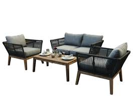 Canterbury Rope 4PC Outdoor Garden Sofa Set - Grey Alfresco Sintra 1100 Round Teak Ding Table Orient Express Costa Chair Taupe White Rope Grey Wood Height Lad Classic Bedroo Side Fniture Chairs Ellie 5pc Outdoor Setting Amazoncom Solid Retro Cowhide Garden Page 2 Of 12 Glasswells Peacock By Caline Wgu Design Danish Mid Century Frem Rojle And Set 4 Large Pine With Twist Legs Midcentury Swedish Modern Svegards Mkaryd Weave Luxury Organic Hand Woven