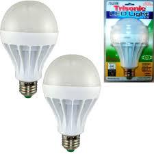 2 pc daylight 15 watt energy led light bulb 125 w output