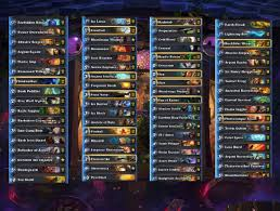 Top Tier Hearthstone Decks August by Eu Spring Preliminary Deck Preview Akawonder Sjow Naiman