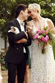 cat wedding dress the purrfect day cool cat themed wedding inspiration
