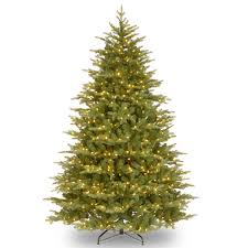 Fortunoff Christmas Tree Decorations by Pre Lit Trees 5u0027 Flocked Spruce Prelit Tree By Vickerman