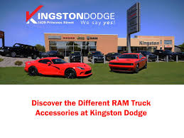 Discover The Different RAM Truck Accessories At Kingston Dodge By ...