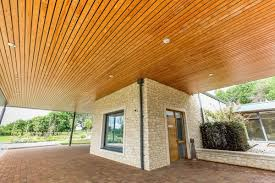 100 Wood Cielings Solid Ceilings Exterior By Hunter Douglas Architectural