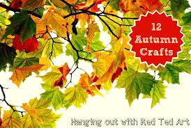 Autumn Crafts Ideas A Hangout Red Ted Arts Blog Craft Activities Wonderful Fall
