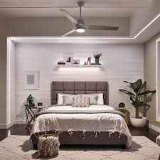 Pre Tray Gallery Living Low Fan Ceiling Front Decor Interior