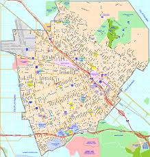 City Zoning Map Awesome California Cities Road Big