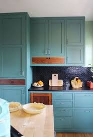 Teal Green Kitchen Cabinets by The Kitchen Cabinet Color I U0027m Currently Obsessed With Teal