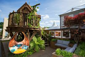 Magical Blue Forest Treehouse Is A Fairytale Castle For Your ... 10 Fun Playgrounds And Treehouses For Your Backyard Munamommy Best 25 Treehouse Kids Ideas On Pinterest Plans Simple Tree House How To Build A Magician Builds Epic In Youtube Two Story Fort Stauffer Woodworking For Kids Ideas Tree House Diy With Zip Line Hammock Habitat Photo 9 Of In Surreal Houses That Will Make Lovely Design Awesome 3d Model Free Deluxe