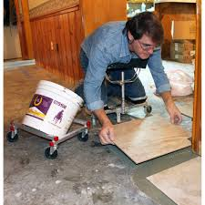 Tile Setter Jobs Edmonton by Racatac Rolling Knee Pads With 3in Casters Contractors Direct