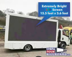 LED Billboard Truck For Sale - Ownyourbillboard