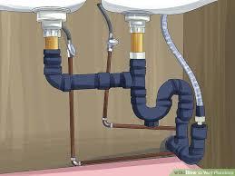 fix leaking kitchen sink drain kitchen sink water wax ring