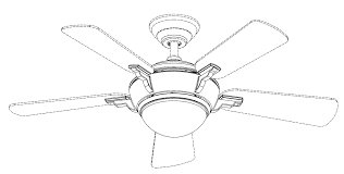 Po 3 Of 9 Patent Drawing Marvelous Ceiling Fan