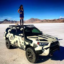 Bad Ass 4Runner With A Bad Ass Girl On Top!! Can't Get Any Better ...