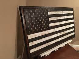 Rustic American Flag Handmade Home Decor Reclaimed