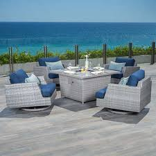 Patio Furniture Under 30000 by Fire Pits U0026 Chat Sets Costco