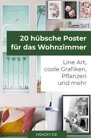 20 kreative poster für das wohnzimmer home sweet home
