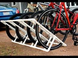 DIY Making A Home Made Pallet Bike Rack