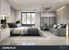 100 Modern Luxury Bedroom 3d Rendering Blue 788279005