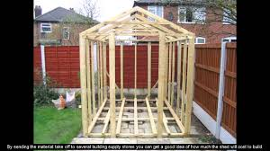 Ana White Firewood Shed by Shed Plans Uk Youtube