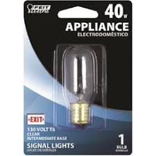 10 watt 120 volt appliance light bulb