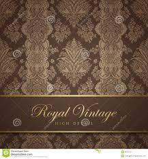 Vintage Wallpaper Design Flourish Background Flo