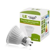 le led gu10 50w le 5 pack 6 5w dimmable mr16 gu10 led bulbs 50w halogen bulbs
