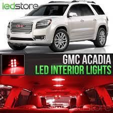 100 Interior Truck Lighting 20072016 GMC Acadia Red LED Lights Package Kit Car