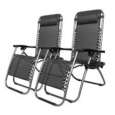 Amazon.com: GT Chaise Lounge Chairs Folding Set Two Lawn ...