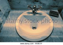 Kitchen Sink Drama Is Associated With by Stainless Steel Kitchen Sink Plug Hole Stock Photo Royalty Free