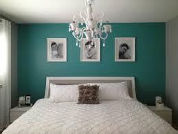d馗o chambre bleu canard peinture murale chambre bleu canard idee deco chambre avec un mur