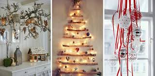 Christmas Decorations Of Scandinavian Style Rustic Ideas