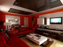 red and black living room ideas awesome for small living room