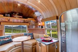 Airstream Restoration For Unique House Style Ideas Stunning Restored Flying Cloud Travel Trailer